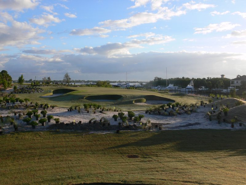 Bunker design at The Floridian